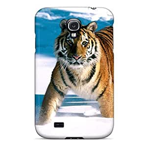 High-quality Durability Case For Galaxy S4(majestic Grace Siberian Tiger) by supermalls