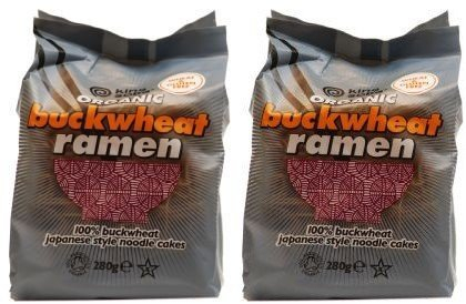 (2 Pack) - King Soba - Org 4 Pk Bwheat Ramen Noodles | 280g | 2 PACK BUNDLE by King Soba