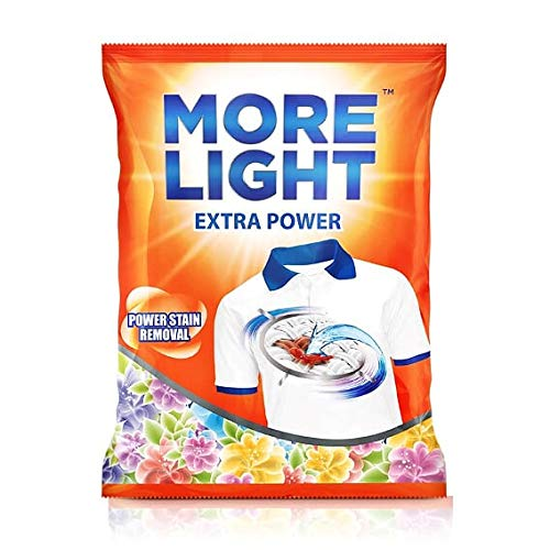 More Light Extra Power Detergent powder 4kg
