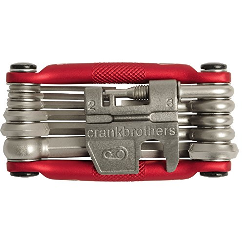 Crankbrothers M17 Bicycle Multi-Tool - Steel Bike Tool, Torx and Chain Tool Compatible