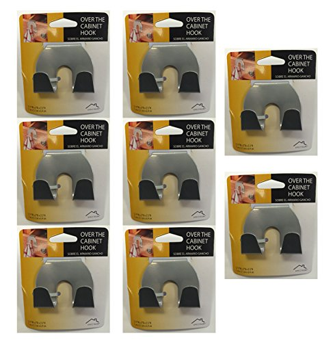 Over The Cabinet Hook (8 Pack) by Spectrum