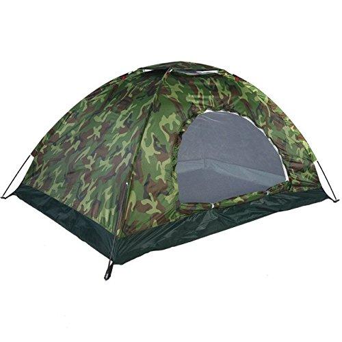 Bestwind 1-4 Person Tragbare Outdoor Camping Camouflage Zelt Outdoor Camping Erholung Doppel Paar Zelt UV-Proof Zelt