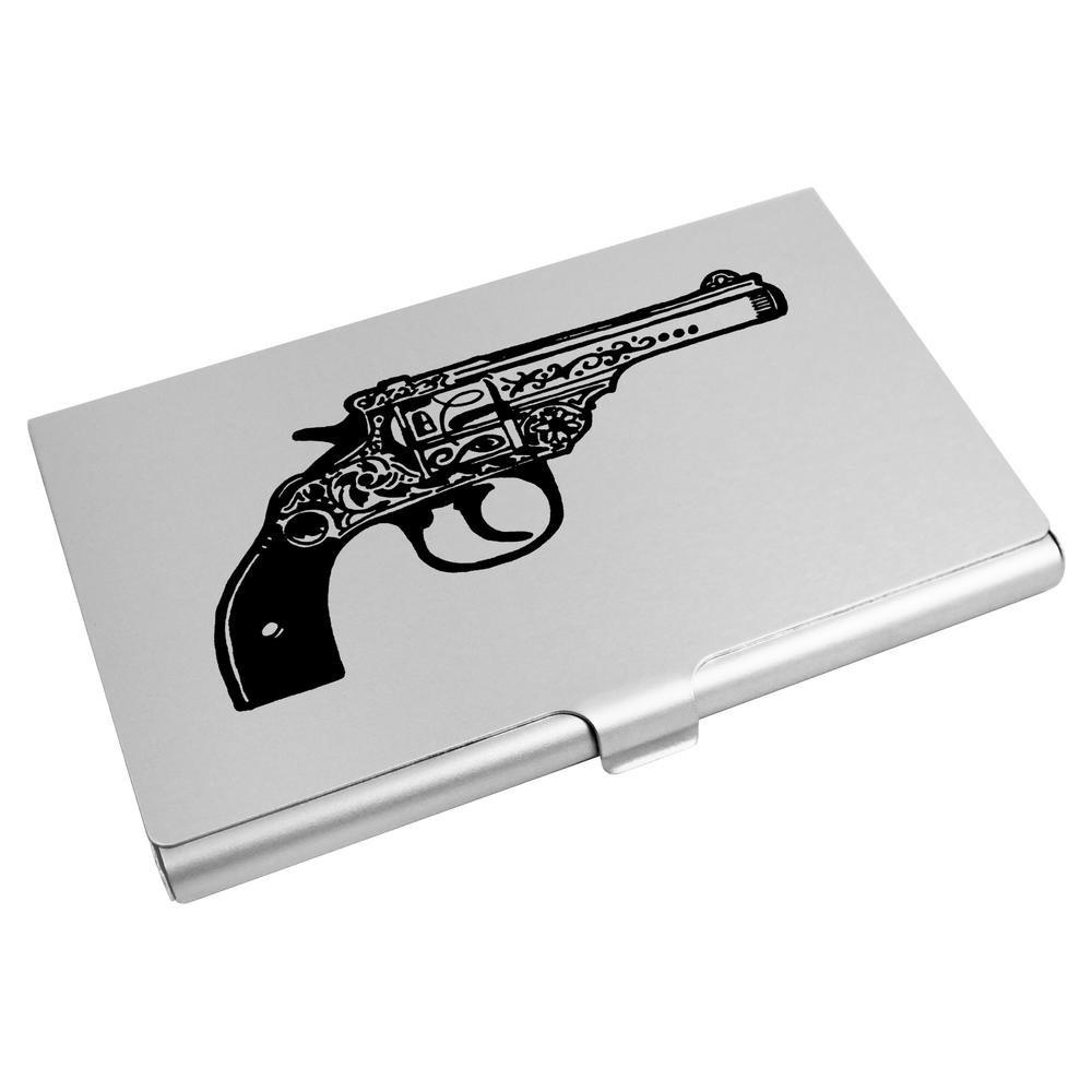Azeeda 'Pistolet' Porte Carte de Visite / Porte Carte de crédit (CH00003758)