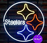 Urby™ 24''x20'' Sports Teams PSs Custom Handmade Real Glass Neon Sign Beer Bar Light 3-Year Warranty-Excellent & Unique Handicraft! U107