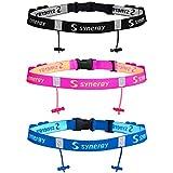 Synergy Running/Triathlon Race Day Number Belt Combo Pack