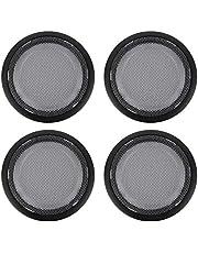 Inner Door Speaker Cover,Door Speaker Frame,Inner Door Speaker Frame Cover Horn Ring Trim Car Interior Parts Fit for 3/4 Series GT F30/F31/F34/F35/F32/F33/F36 2013?2019(Black)