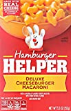 Betty Crocker Hamburger Helper, Deluxe Cheeseburger Macaroni Hamburger Helper, 5.5 Oz Box
