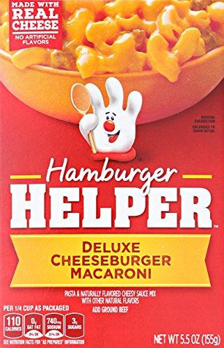 Crocker Hamburger Helper Cheeseburger Macaroni