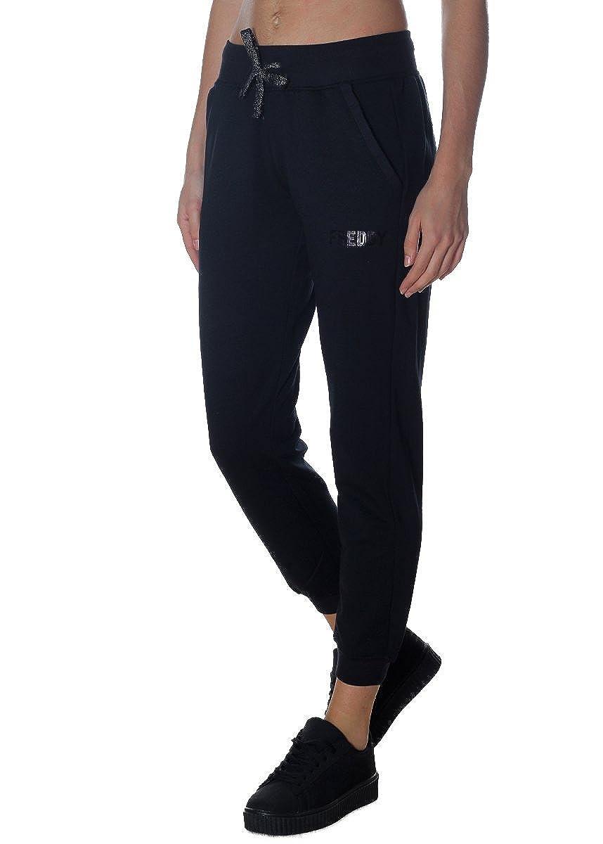 FREDDY - Pantalon de Sport - Femme Noir Noir X-Small  MainApps  Amazon.fr   Vêtements et accessoires 3f3245b46f0