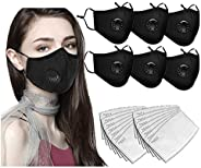 Bandanas with Activated Carbon Filter Replaceable Haze Dust for Adults