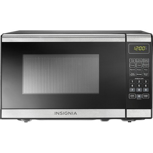 Insignia™ – 0.7 Cu. Ft. Compact Microwave – Stainless Steel Review