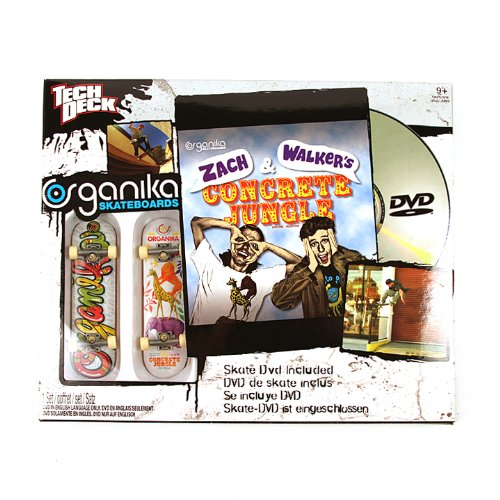 (Tech Deck Skate Shop DVD Pack Organika