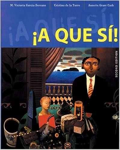 Amazon.com: A que si! (9780838477069): M. Victoria Garcia ...