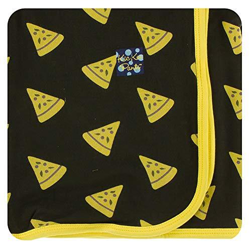 - KicKee Pants Little Boys Print Swaddling Blanket - Zebra Pizza, One Size