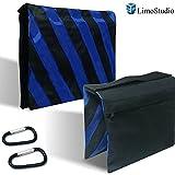 LimoStudio 2 x Sandbag Sandbags Photography Sandbag Studio Video Equipment Sandbag Sand Bag Saddle Bag for boom stand tripod, AGG359