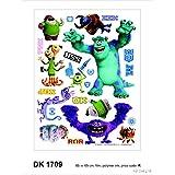 Wall Sticker Disney Monsters Inc. 65 x 85 cm TÜV-Certified by Disney