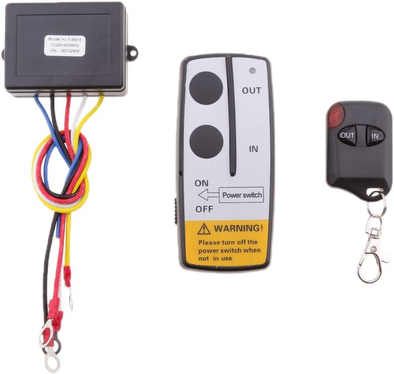 Wireless Winch Remote Control for Truck Jeep ATV SUV Switch Handset Car Accessories