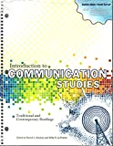 Introduction to Communication Studies, Robert A Brookey, Betty H La France, 1621311589