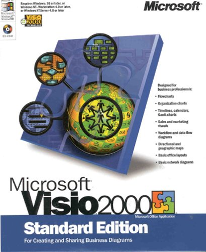 Microsoft Visio 2000 Standard Edition Upgrade [Old Version]