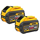 DEWALT DCB609-2 20V/60V Max Flexvolt 9.0Ah Battery, 2 Pack
