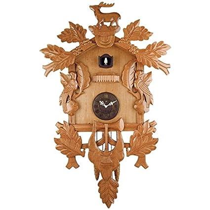 Reloj Cucú de madera. Reloj de pared Mary-G Mod. 61011C - Cuarzo