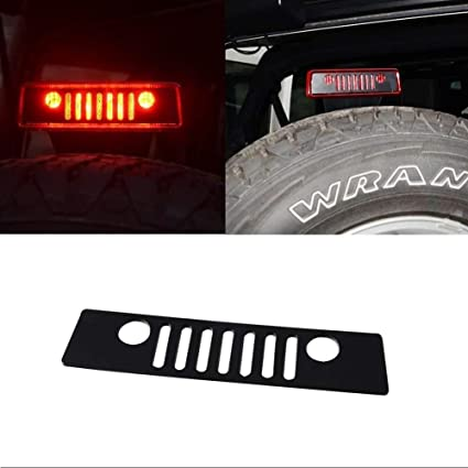 FIT 2007 Wrangler Third Brake Light Cover  JEEP