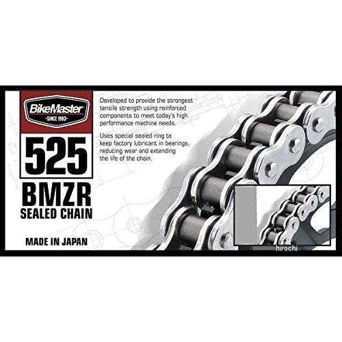 バイクマスター BikeMaster チェーン 525BMZR シールチェーン ゴールド 150L カシメ 197423 525BMZR-150/GG   B01N0IBRFO