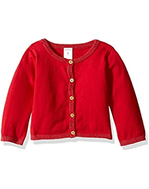 Sweater Knit Cardigan (Baby)