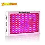 Full Spectrum LED Grow Lights 600w Indoor Plants Growing Light Lamp with UV IR Bulbs for Greenhouse Hydroponic Indoor Garden Plant Bloom and Veg Lightimetunnel