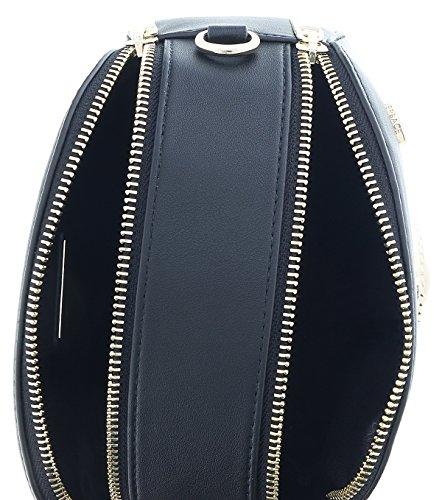 Versace Jeans Donna Borse E1VRBBV1700538 NERO 20X7X16cm