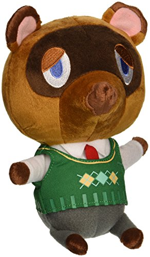 "Little Buddy USA Animal Crossing New Leaf Tom Nook 8"" Plush"