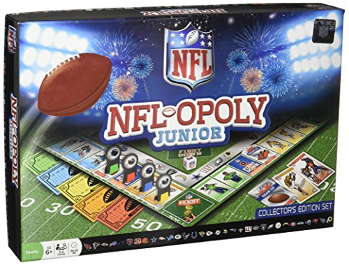 MasterPieces NFL-Opoly Junior Board (Wooden Nfl Football)