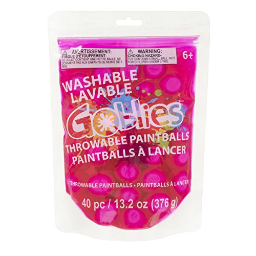 Darice Goblies Throwable pink Paintballs