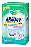 LAURIER Kao Speed Plus Powerful Guard Sanitary Napkin with Wings, 22 Count