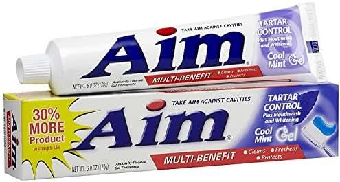 Toothpaste: Aim Tartar Control