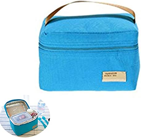 Oyfel Sac Isotherme Repas a Dejeuner Lunch Box Bag Flamant Rose Etoiles Hibou Baleine /Étanche Toile 1 Pcs