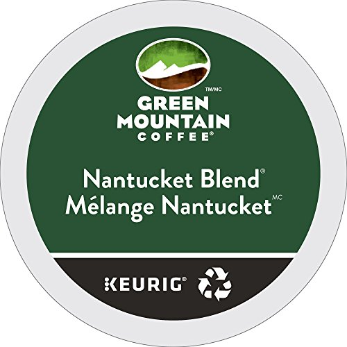 Green Mountain Coffee Nantucket Commingle Fair Trade Keurig Single-Serve K-Cup Pods, Medium Roast Coffee, 24 Count