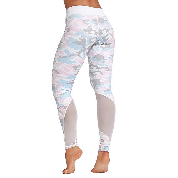 Levifun Pantalones Yoga Mujeres polainas Deportivas Mujer, Mujer Deporte Pantalones Fitness Mujer Gym Pantalon Yoga EláSticos Bombachos para Mujeres Running ...