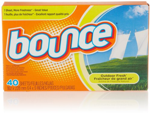 Bounce Fabric Softener Sheets, 40 Count