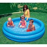 "INTEX Crystal Blue Kids Outdoor Inflatable 66""  x 15""Swimming Pool 58446EP"