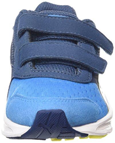 Puma Descendant v3 V Kids - zapatilla deportiva de material sintético Niños^Niñas azul - Blau (cloisonné-poseidon-sulphur spring 01)