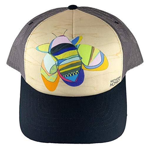 Katherine Homes Artist Series Trucker Hat - Rusty Patched Bumble Bee