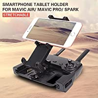 Sunnylife Remote Controller Smartphone Tablet Holder Metal Bracket Scalable Support for DJI MAVIC AIR/MAVIC PRO/SPARK