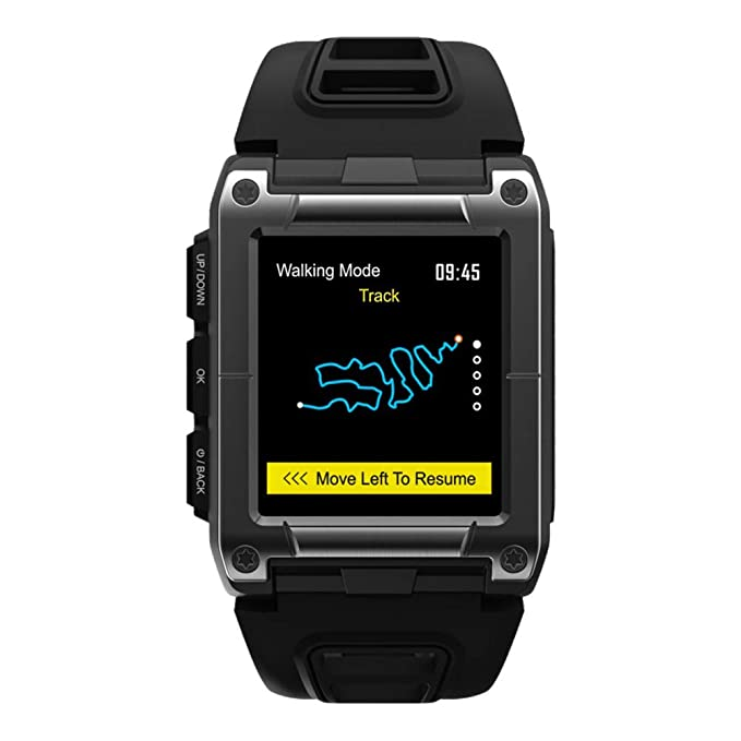 OOLIFENG Impermeable IP68 Reloj Nadando, Reloj con GPS Y Pulsometro ...