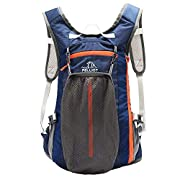 PELLIOT 20L Bike Backpack, Cycling Backpack Waterproof, Running Backpack for Hiking Climbing Camping Skiing Trekking