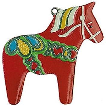 Dalarna Pferd amazon de schwedische dala pferd mini mini deutsche zinn