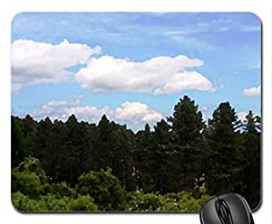 View from the Lookout Tower #1 Mouse Pad, Mousepad (Forests Mouse Pad, 10.2 x 8.3 x 0.12 inches)