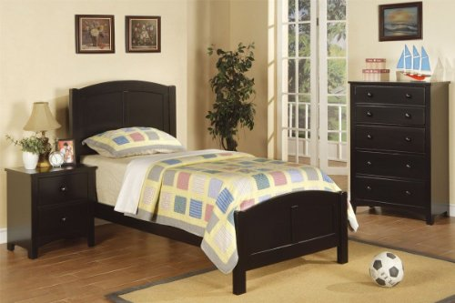 Youth Twin Panel Bed - 1