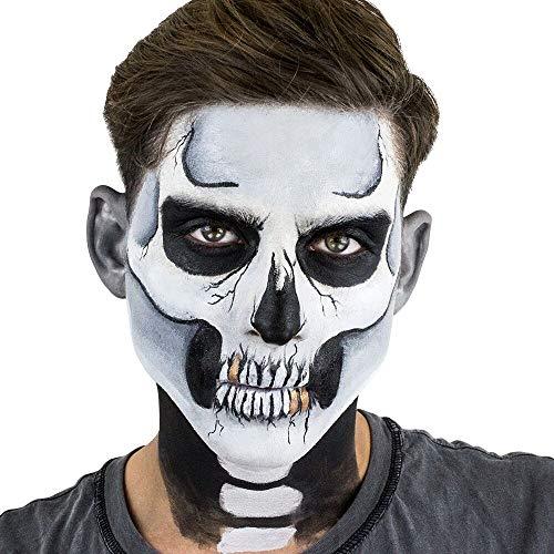 (Classic Skull Stencil KIT)