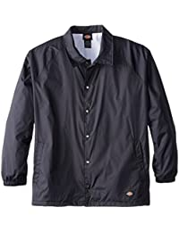 Men's Big & Tall Snap Front Nylon Jacket